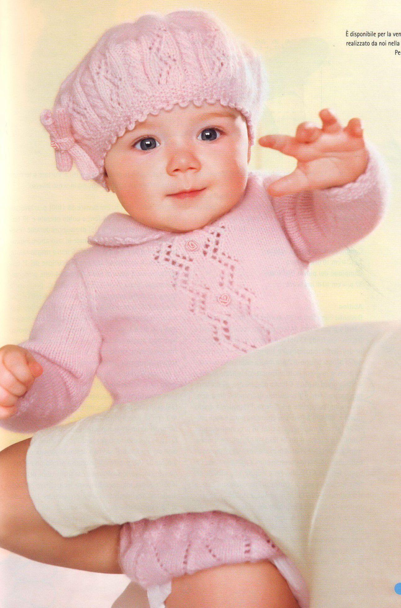 комплект для малышей Tesoro Piccolo свяжите малышам мальчикам и