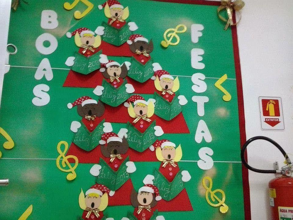 Las navidad es una gran oportunidad para decorar la puerta for Decorar puertas navidad infantil
