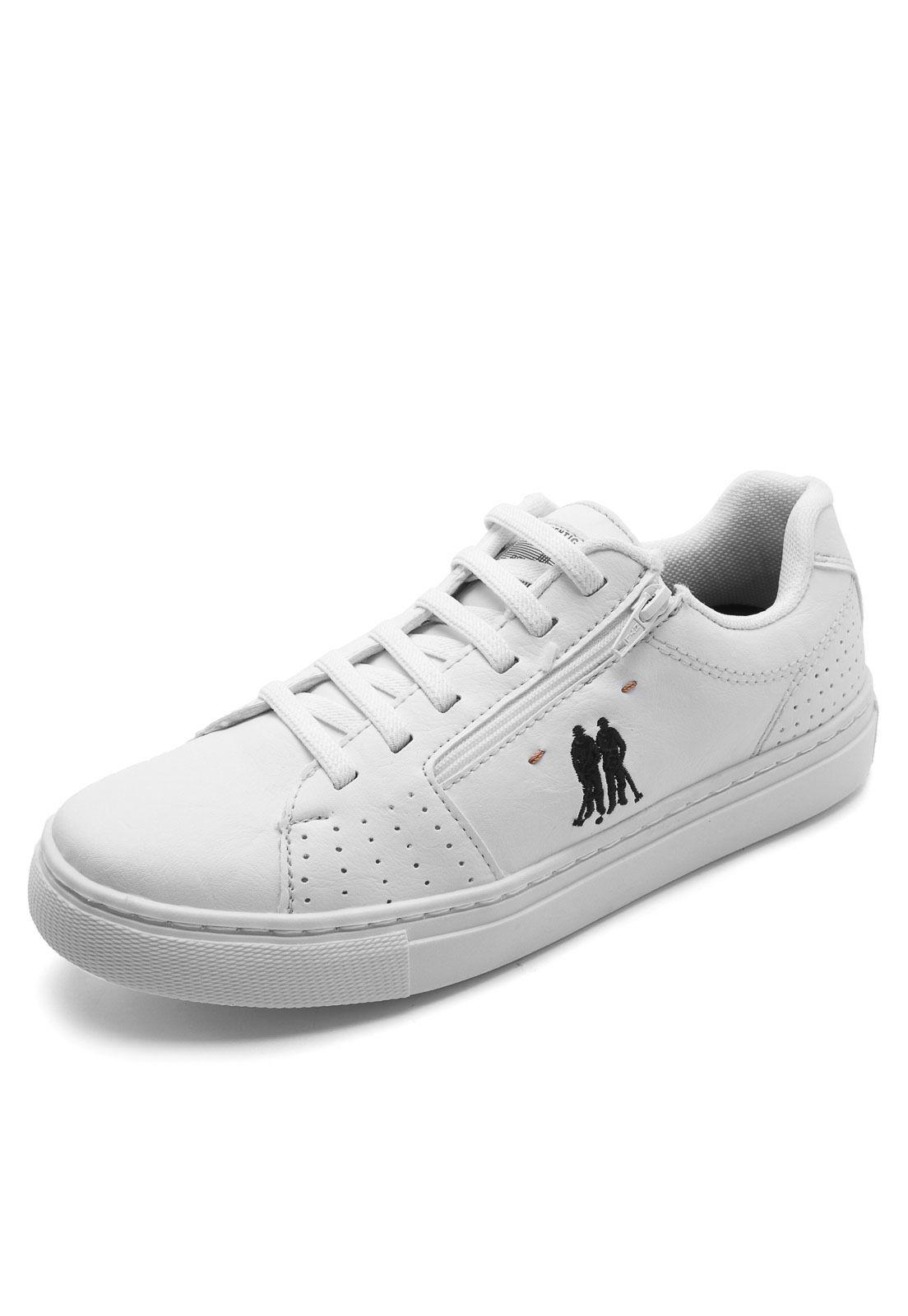 Sapatênis Polo Wear Logo Branco | Polo wear, Sapatenis polo