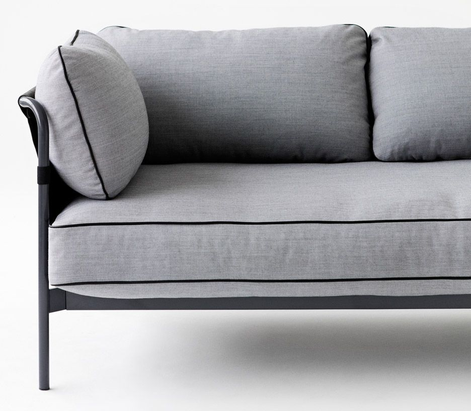 Bouroullec Brothers Design Flat Pack Can Sofa For Hay S 2017 Collection