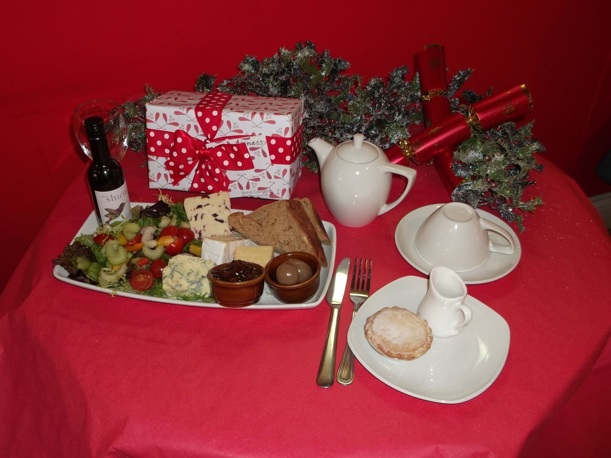 Cheese And Wine Platter From Our Taste Of Christmas Festive Menu With Images Platters Coffee Shop Tasting