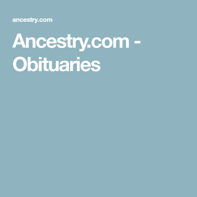 Ancestry Blog, Genealogy Free