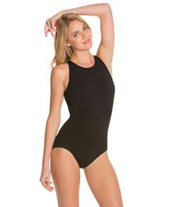Penbrooke Krinkle High Neck Mio One Piece One Piece High Neck One Piece One Piece Swimsuit