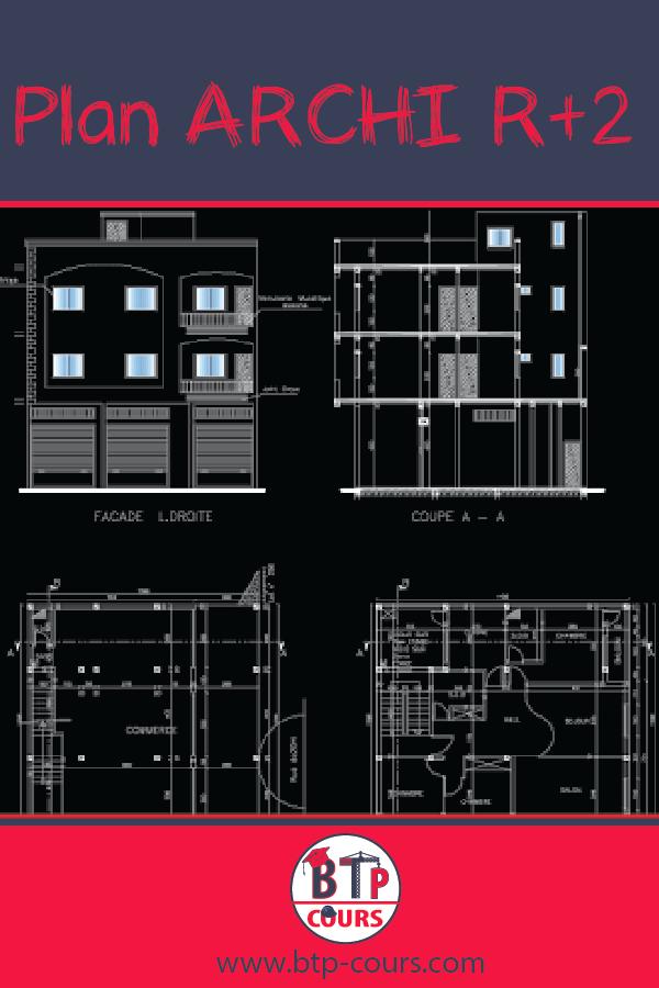 Maison R2 Plan 6 Pieces 99 M2 Dessine Par Newwrach