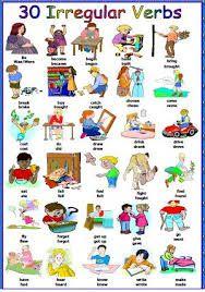 Verbos Irregulares Dibujos Buscar Con Google Verbos Irregulares Verbos Irregulares Ingles Lista De Verbos
