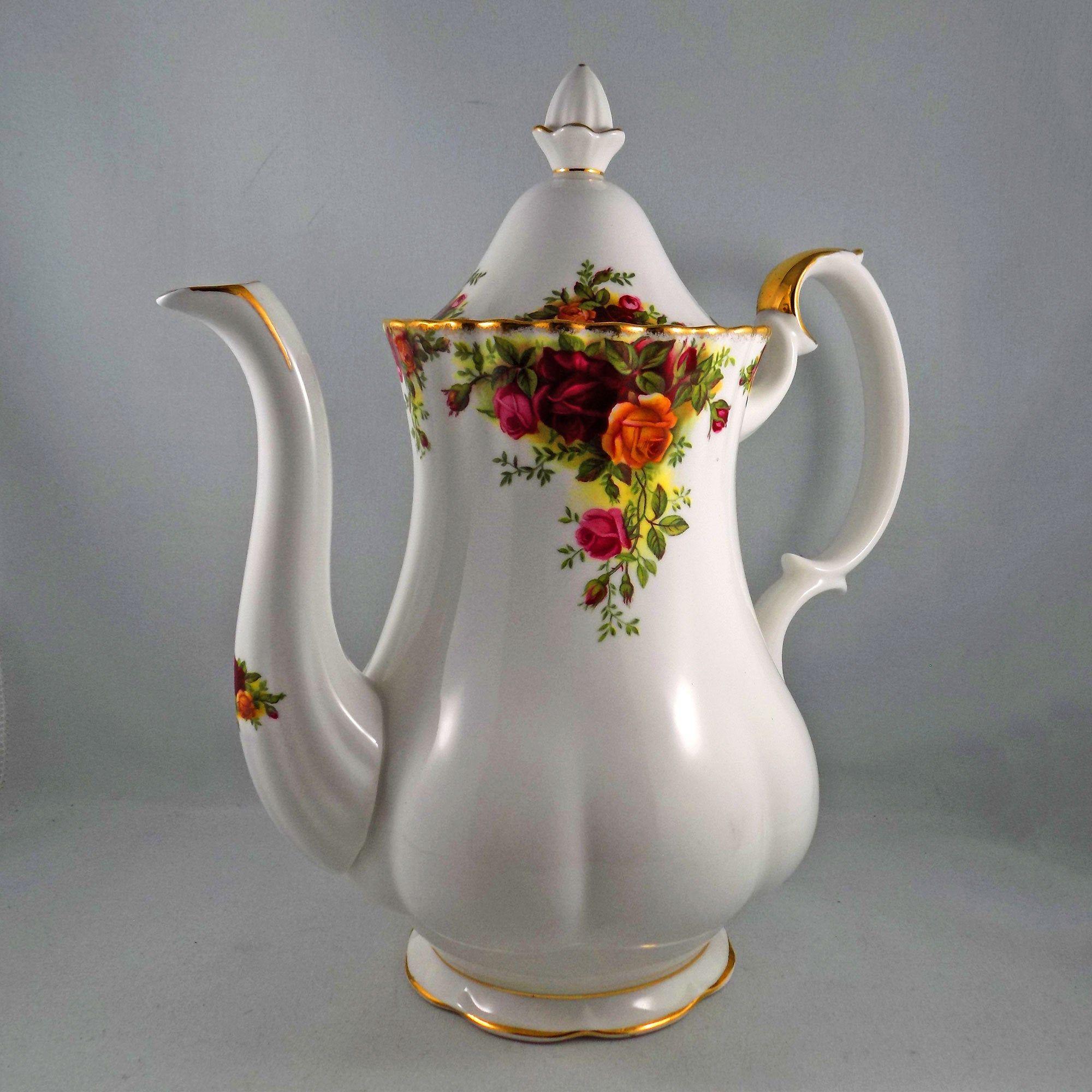 Royal Albert Vintage China Coffee Pot