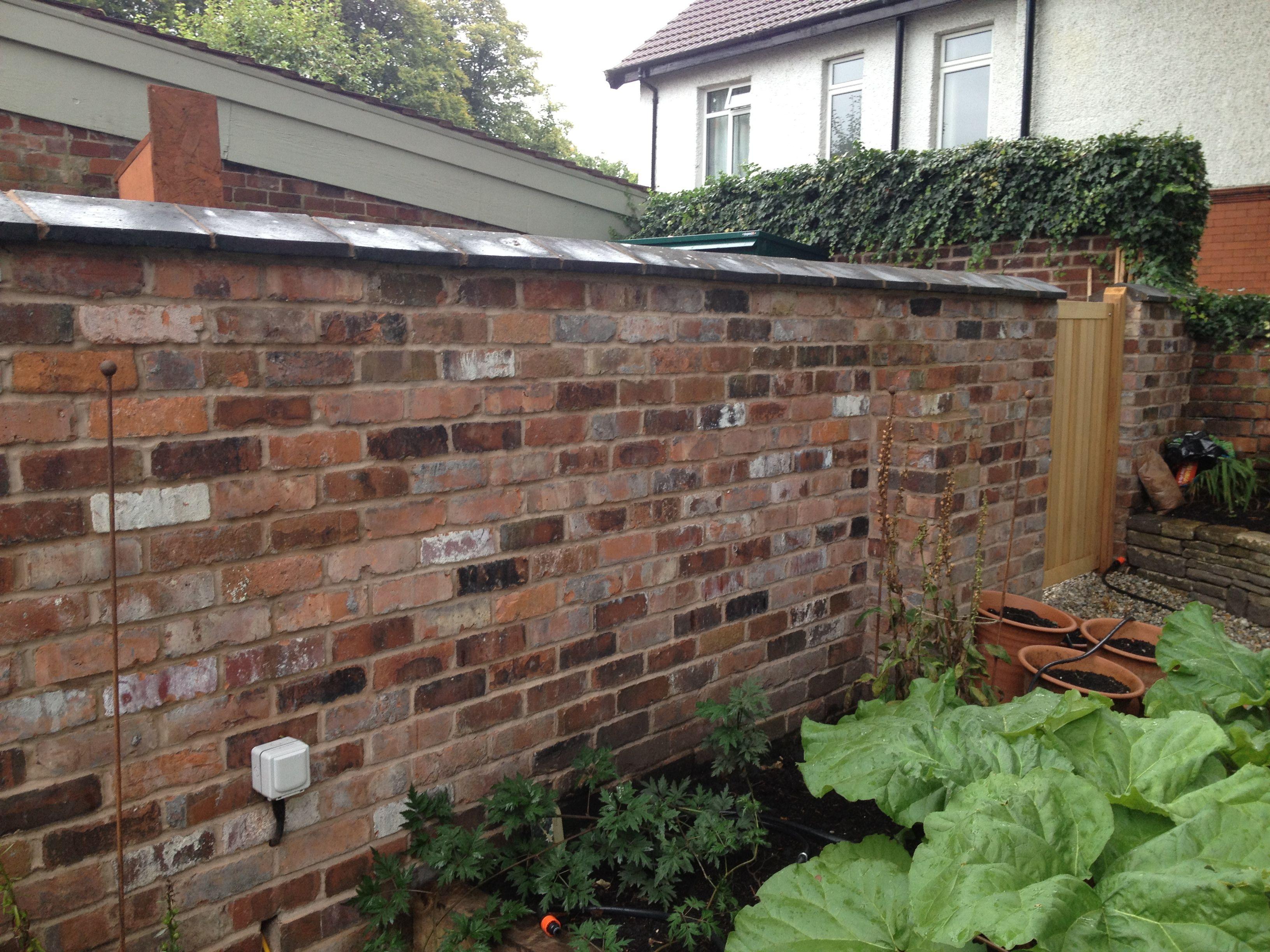 Reclaimed Cheshire Brick Wall Http Www 400 x 300