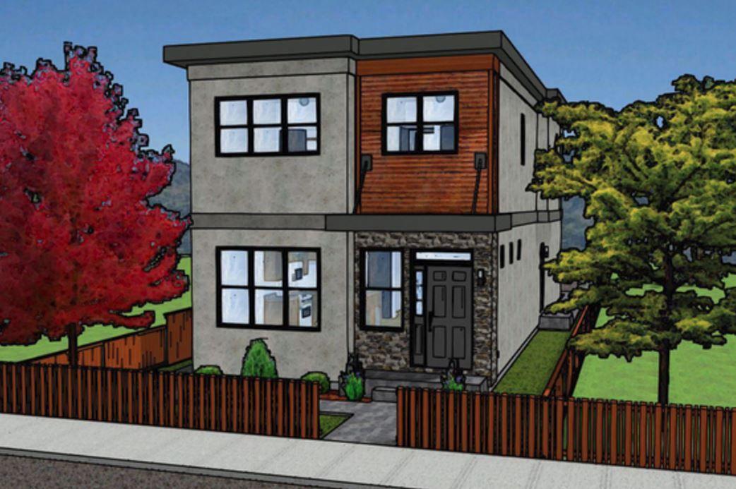Modelos De Casas Sencillas Para Construir En Dos Pisos Modelos De Casas Sencillas Casas De Dos Pisos Duplex Planos