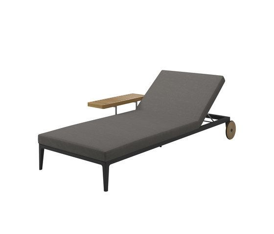 Grid Lounger by Gloster Furniture by Gloster Furniture | Gloster ...