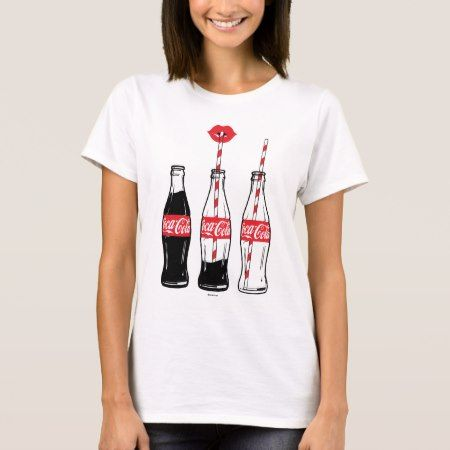 coca cola sipping on coke t shirt tap to personalize. Black Bedroom Furniture Sets. Home Design Ideas