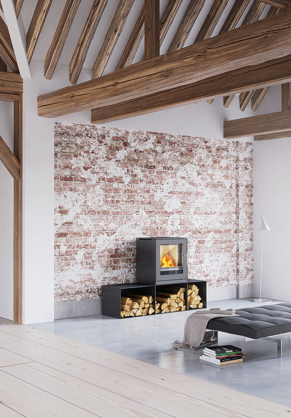 #RAIS Q-Tee 2 a #woodburning #stove with plenty of options for