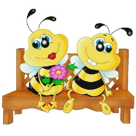 Cartoon Honey Bee Clip Art Bees Honey Bee Free Images Bees Pinterest Free Images Honey Cartoon Bee Honey Bee Cartoon Bee Clipart