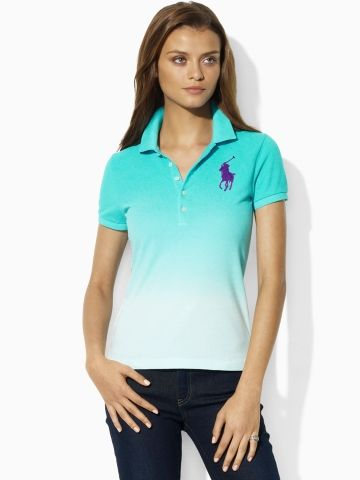 Dip-Dyed Big Pony Polo Price   125.00  a717869f448fc