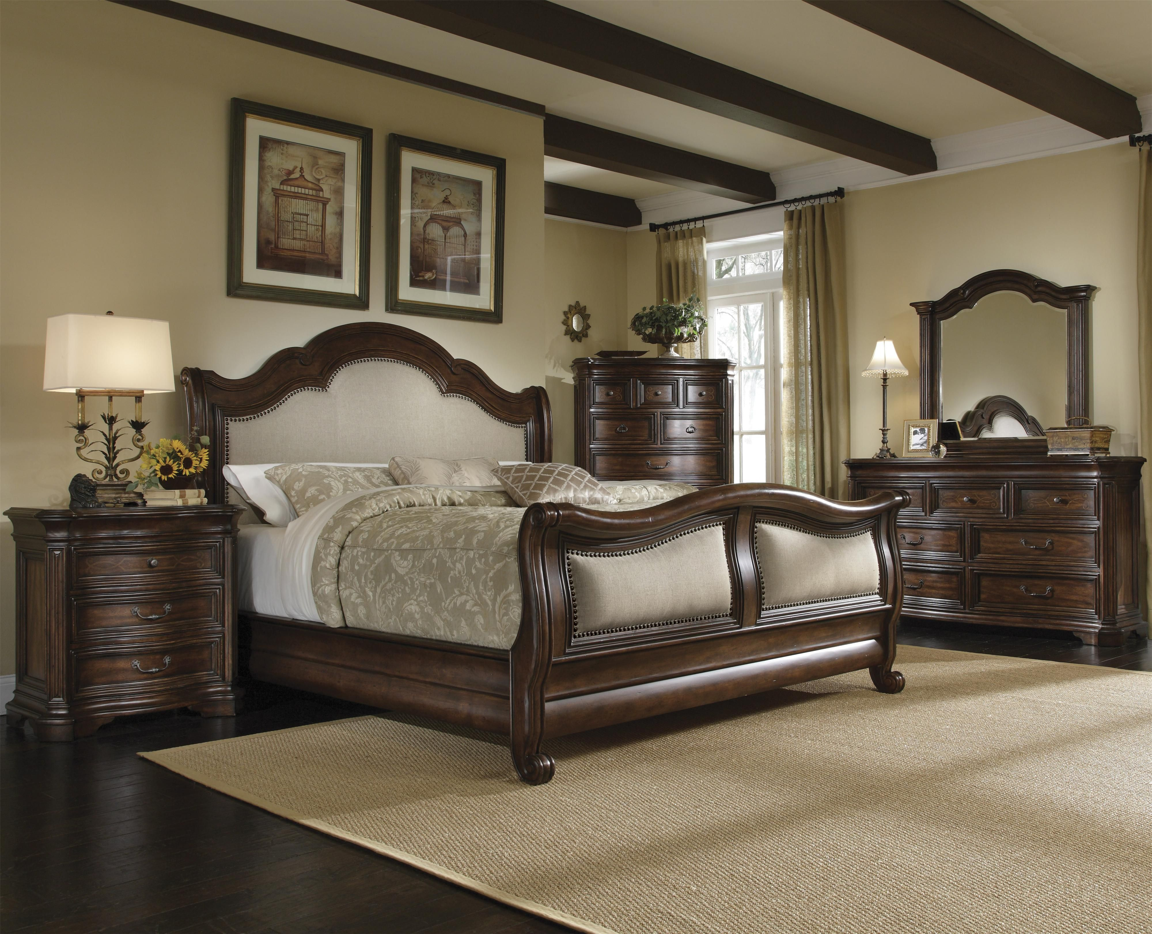 Coronado King Size Sleigh Bed By A R T Furniture Inc