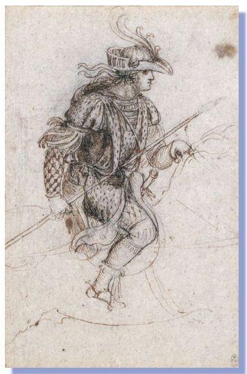 Leonardo Da Vinci Drawing Konstnärer