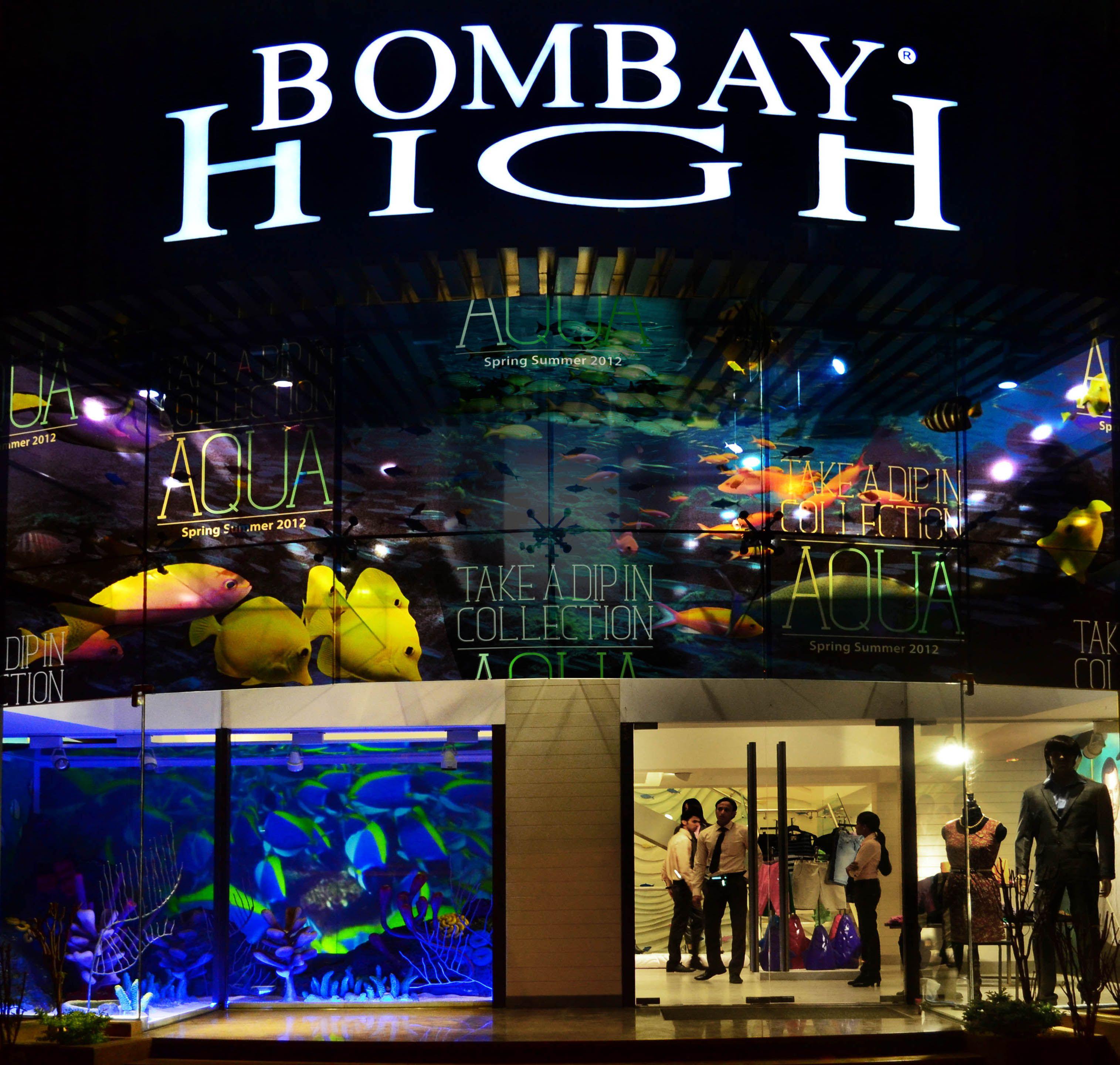High on Bombay High windows, Store windows, Mumbai