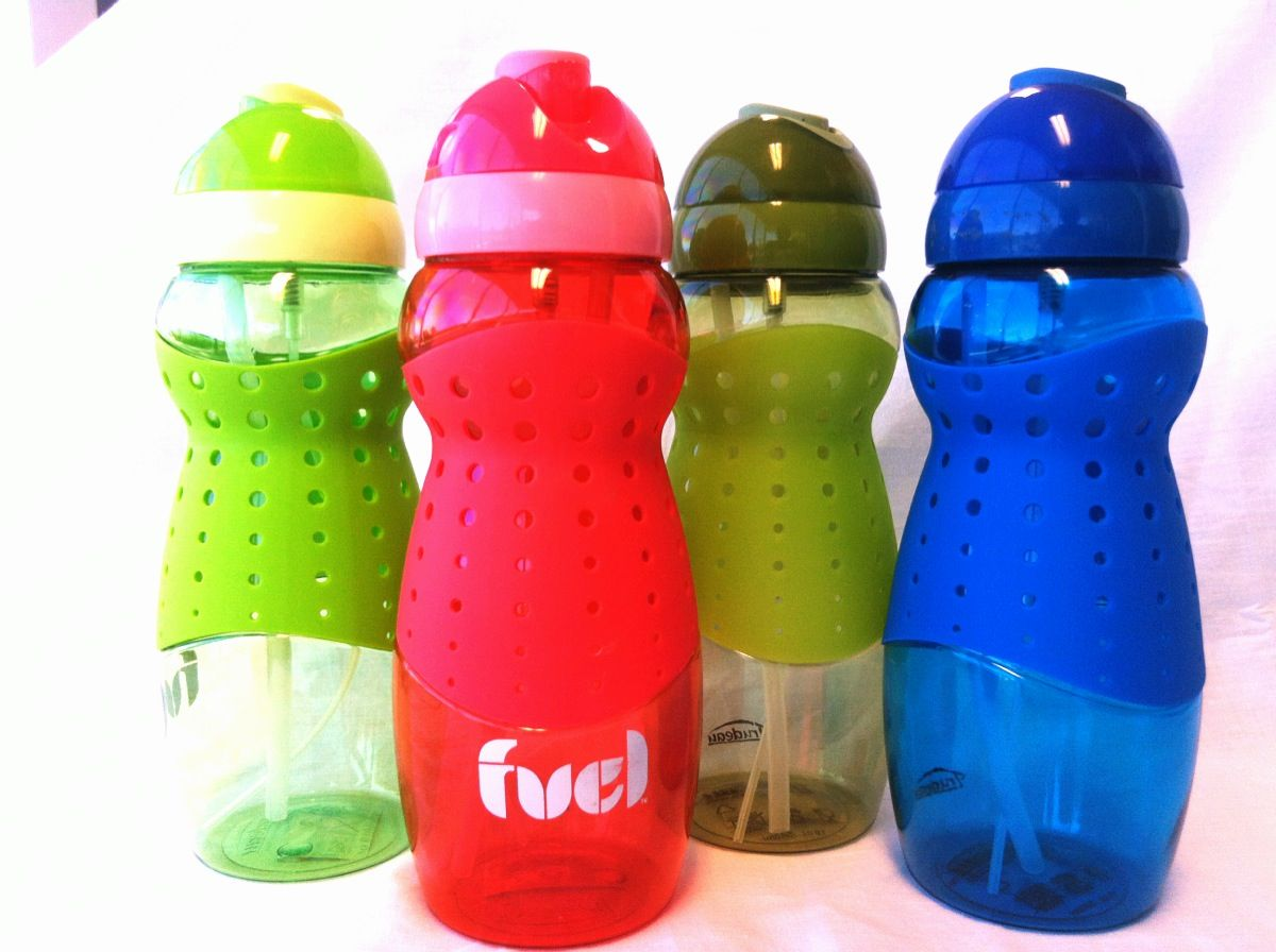 Mist Spray Sports Drink Water Bottle with Straw http