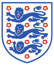 3 x 2 England National Soccer Team-Patch-