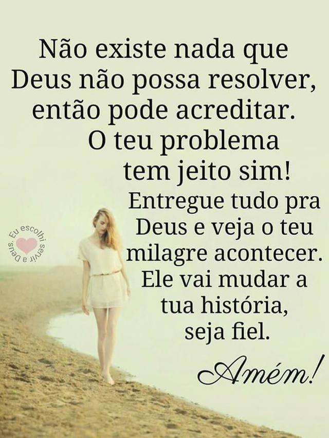 Deus pode lhe ajudar!