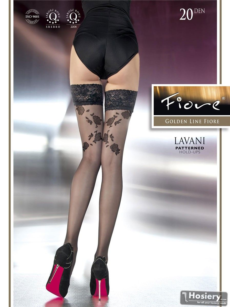 bd25662e87 Very Sexy Patterned Stockings 20 denier from Fiore model Lavani ...