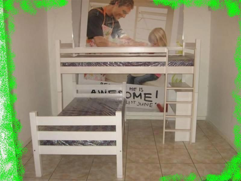 Image Result For Double Bunk Bed Diy L Shaped Incrediblebedding