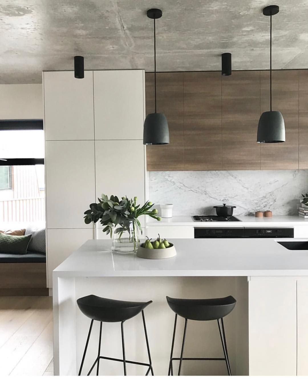 This Kitchen Is Everything Interior Design Styling And Photography By The Contemporary Kitchen Decor Minimalist Kitchen Design Contemporary Kitchen Design