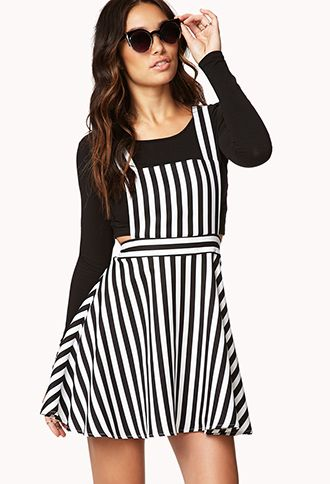 b51ecadfbc Striped Overall Dress  22.80. Totally enamored by the fun overall dresses!!