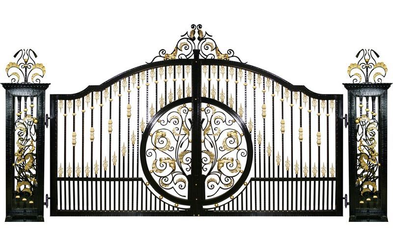 Eros Custom Gate Design | GatesIron | Home Planing | Pinterest ...