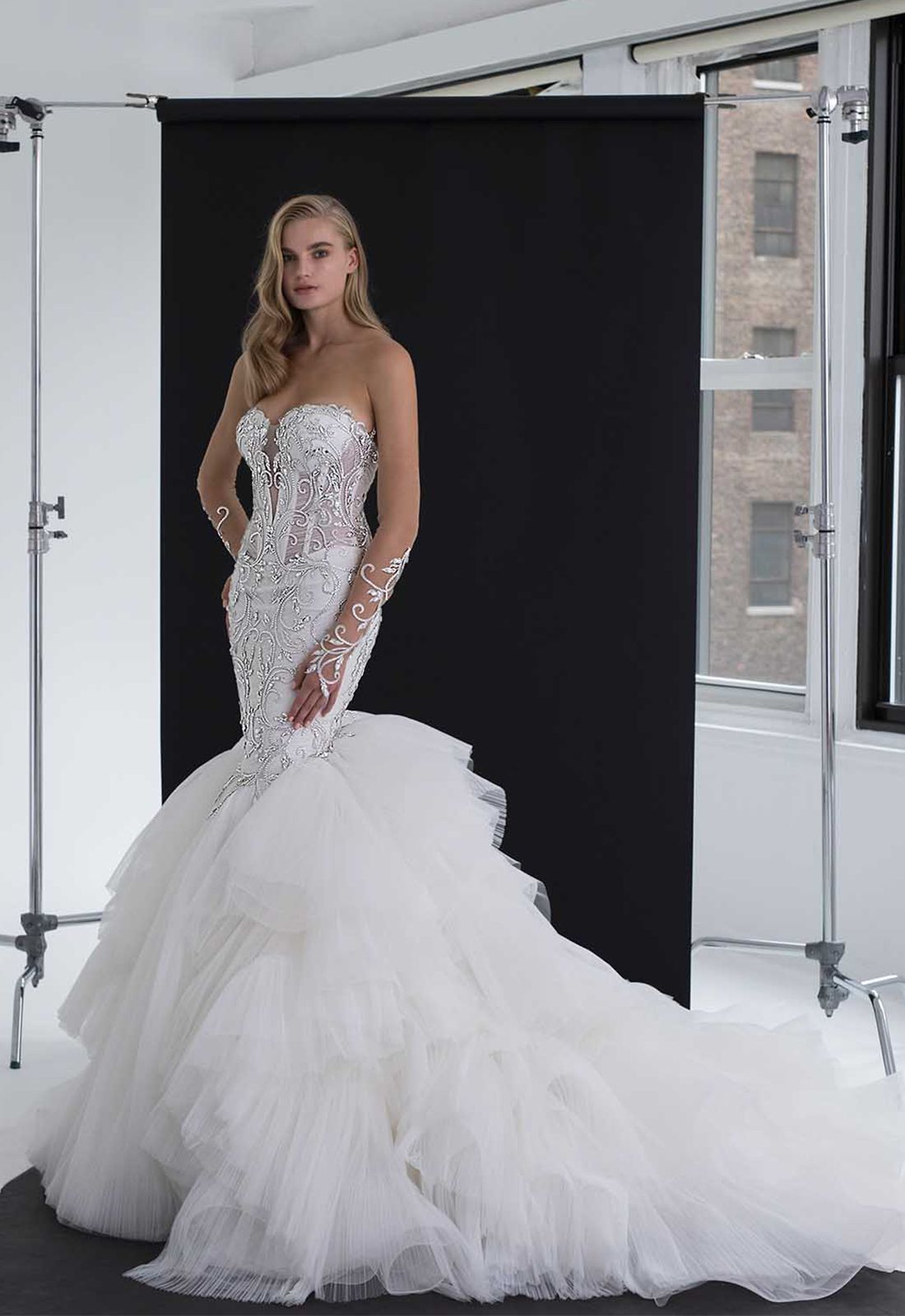 Pin On Willowy Wondrous Wedding Gowns