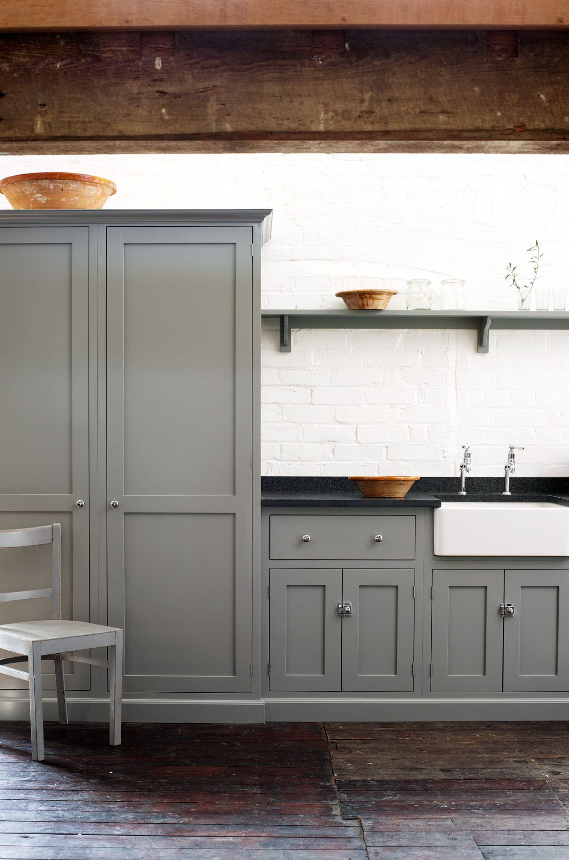 These Kitchens Will Never Go Out of Style | Tall pantry cabinet ...