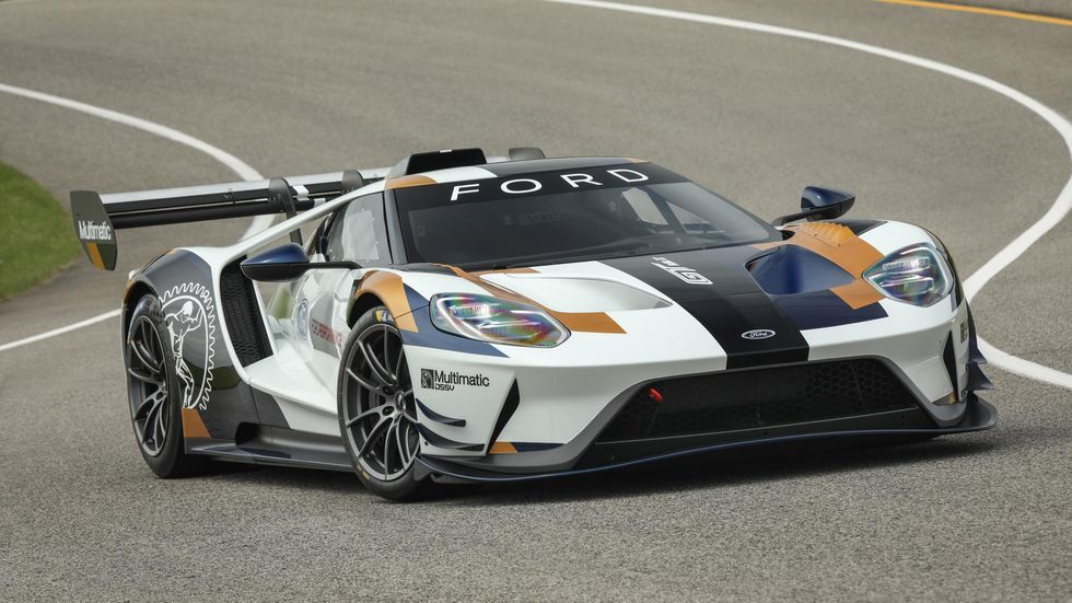 Ford Gt Mk Ii Is Part Supercar Part Race Car All Awesome Ford