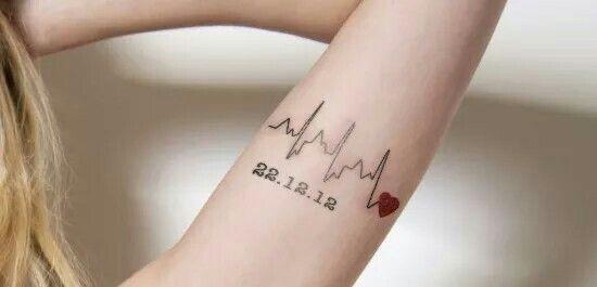 Rep The Chd And Open Heart Surgery Tattoo Ideas Pinterest