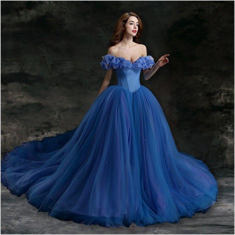 Blue Wedding Dresses | Kostum