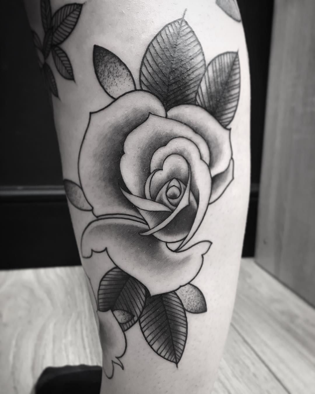 60 Beautiful Must Have Rose Tattoo Designs and Ideas
