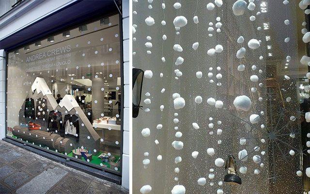 Decorar Tienda Para Navidad.Ideas Para Decorar Escaparates De Invierno Tiendas Stand