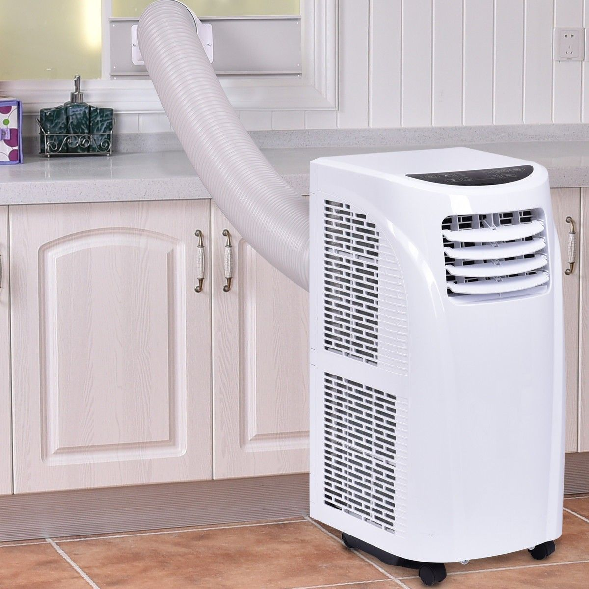 10000 BTU Portable Air Conditioner & Dehumidifier with