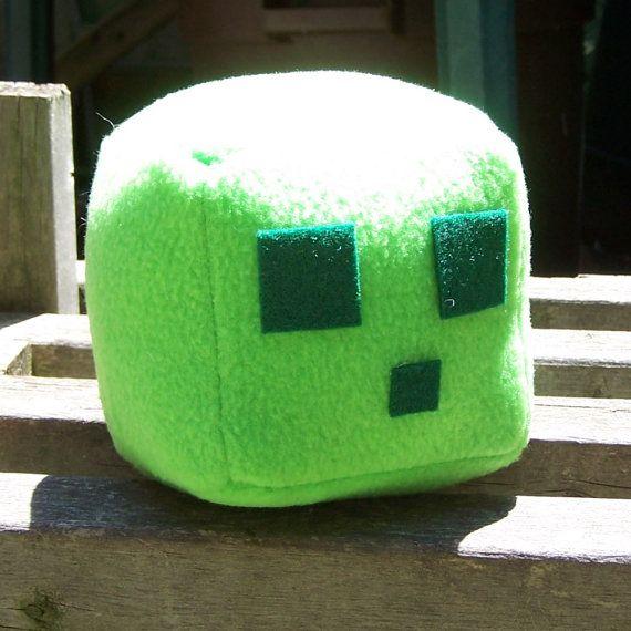 Minecraft Hipo Slime Plush Minecraft Peluches