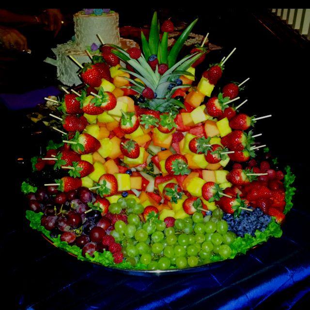 Fruit Display Party Ideas food Pinterest