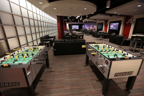 Alabama Player Lounge 2 Lounge College Football Players Alabama