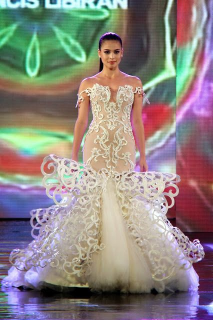 Amazing wedding gown peg | αииє ¢υятιѕ | Pinterest | Anne curtis ...
