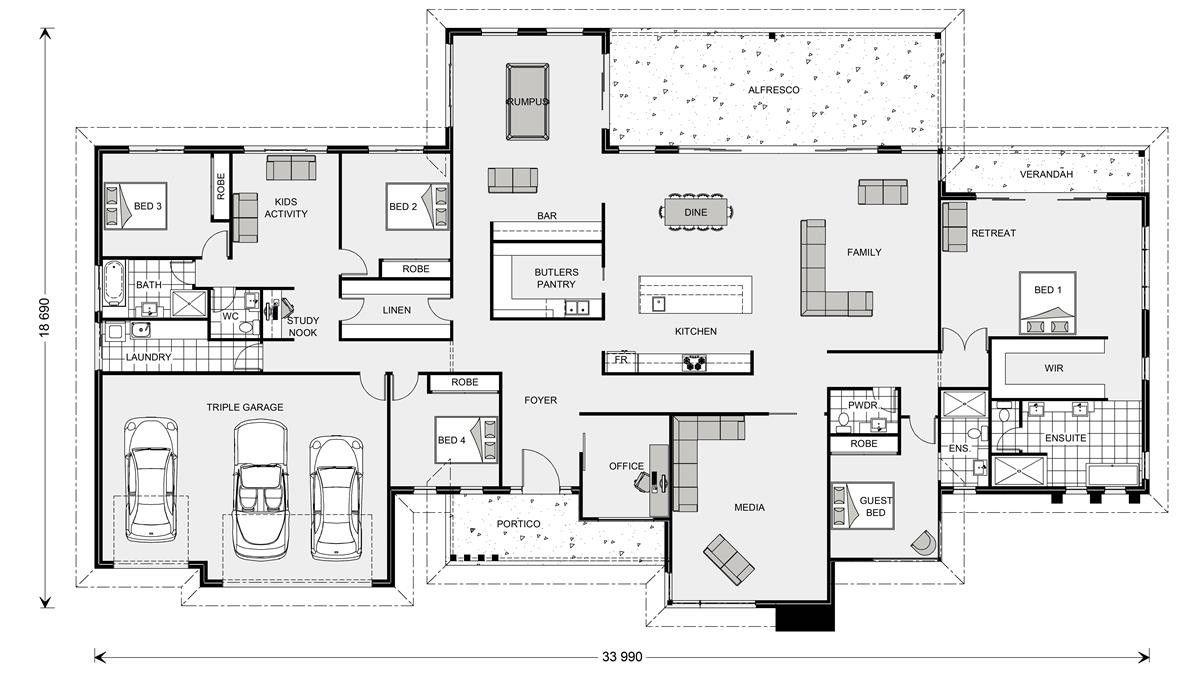 Somerset Prestige 513 Floor Plan Dream House Plans How To Plan Floor Plans