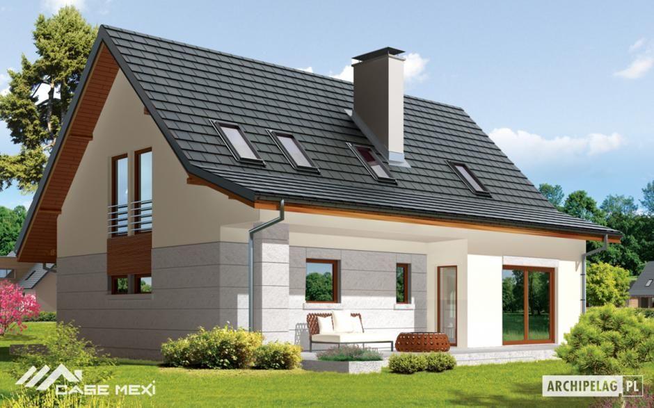 Proiectul demi ofera unei familii de 4 5 persoane o for Arhitectura case cu mansarda