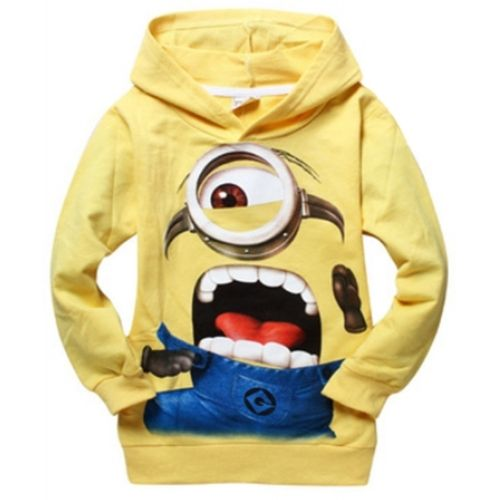 Minion Pullover Hoodies Price: $24.99, Free Shipping Options: xs, s, m, l, xl, xxl  Comment sold then click on the picture to purchase :)