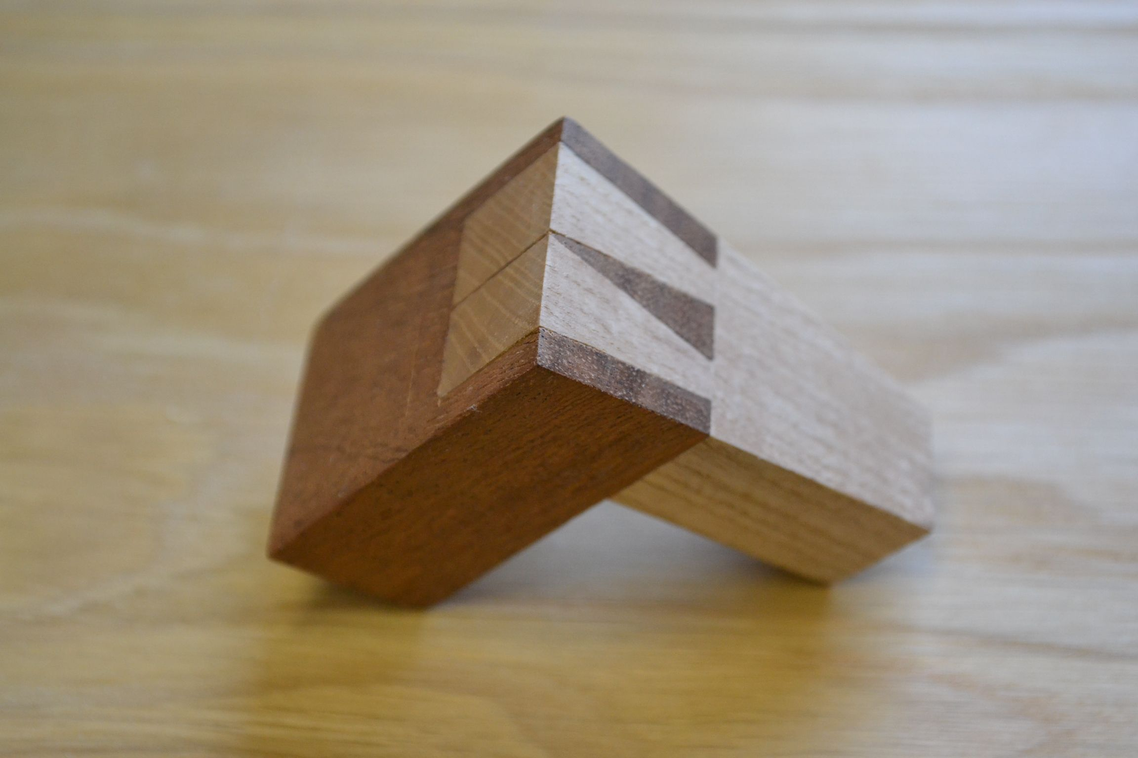 A dovetailed dovetail template. It\'s dovetail inception ...