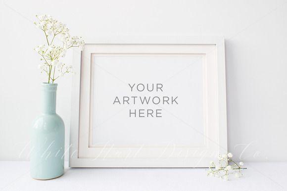 8x10\' Landscape Frame mock up by White Hart Design Studio on ...