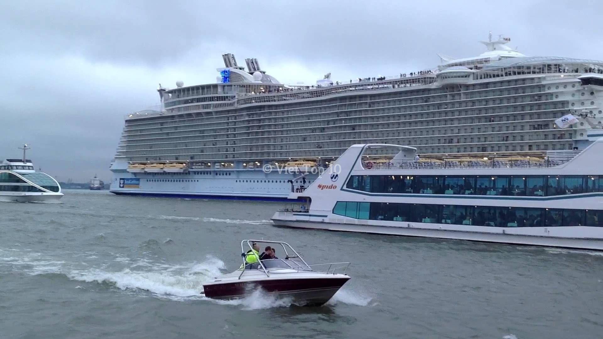top 10 siêu tàu du lịch lớn nhất thế giới - việt top 10 - việt top 10 net - viettop10