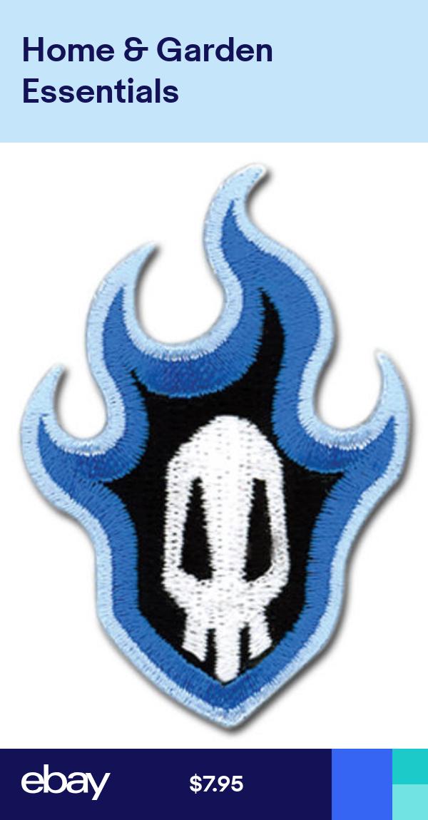 Bleach Anime Skull Patch 2 5 X 1 5 Licensed By Ge Animation Free Ship 7188 Skull Logo Bleach Anime Skull Patch