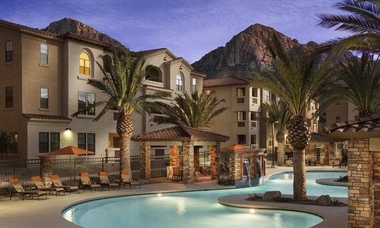 Mark Taylor Opens San Portales In North Scottsdale Despite The Increasing Number Of High Rise Rental Communities Dotting T Villa Oro Valley Rental Apartments