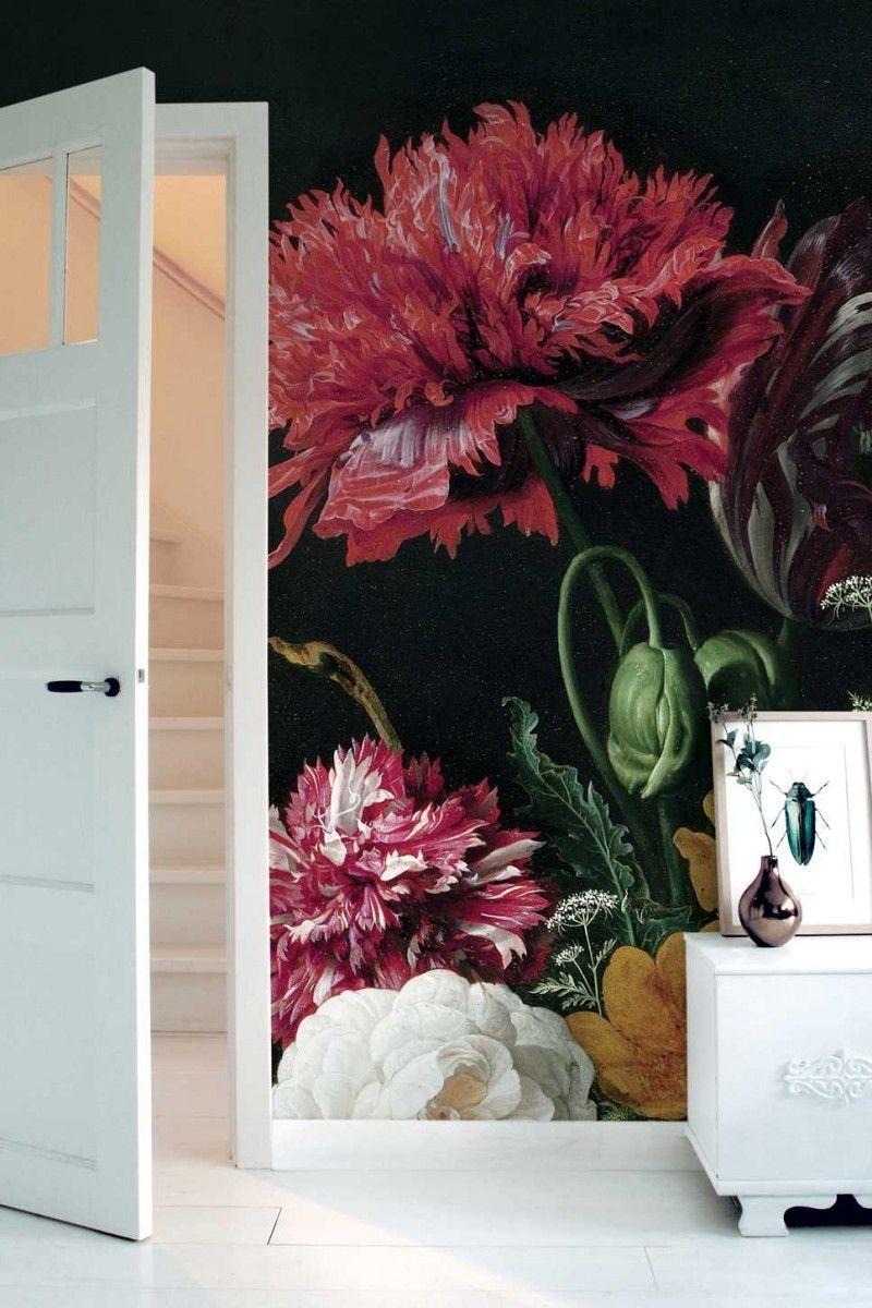 KEK Amsterdam Golden Age Flowers II behang | FLINDERS verzendt gratis