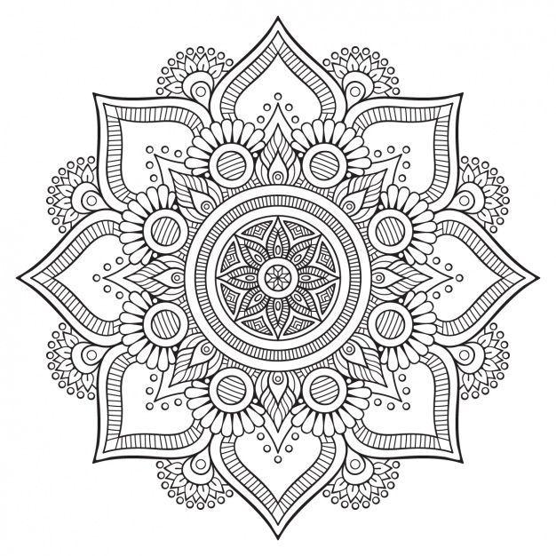 Pin de Phương Thanh en tranh vẽ để cuộn giay | Pinterest | Mandalas ...